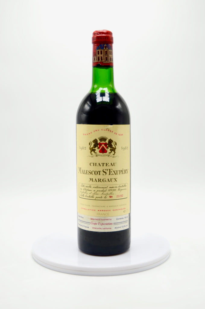 1982 Château Malescot, St. Exupery Margaux