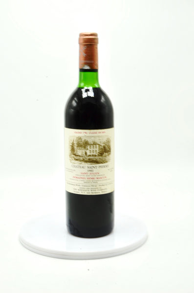 1982 Chateau Saint Pierre St. Julien
