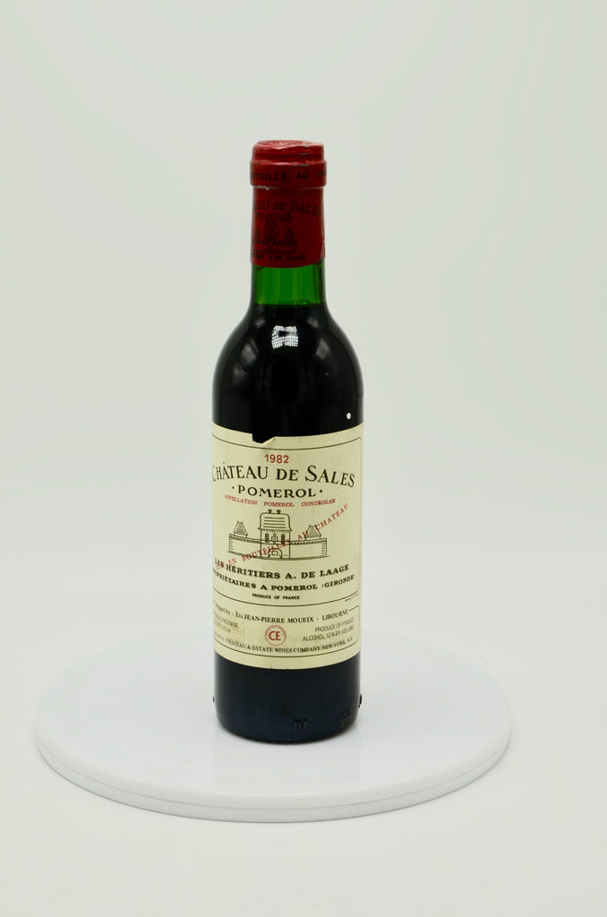 1982 Château de Sales, Pomerol (half-bottle)