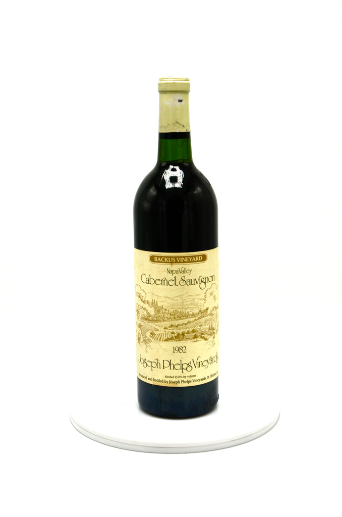 1982 Joseph Phelps Cabernet Sauvignon, Backus Vineyard