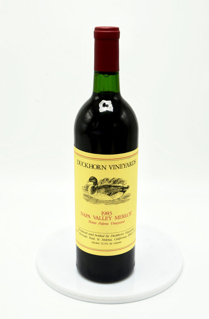 1983 Duckhorn Merlot, Three Palms Vineyard