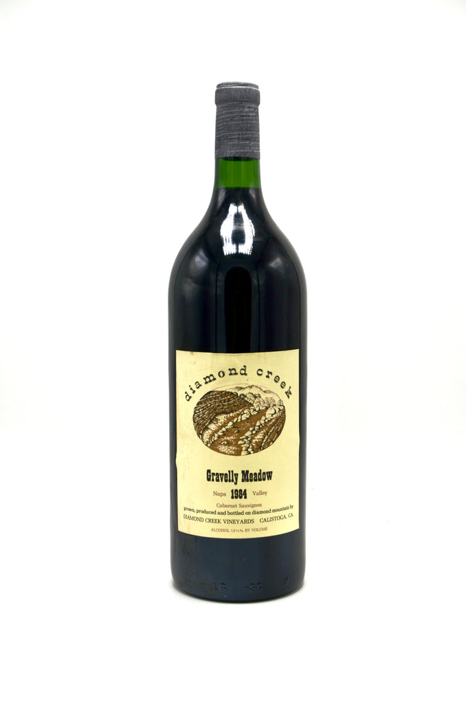 1984 Diamond Creek Cabernet Sauvignon, Gravelly Meadow (magnum)