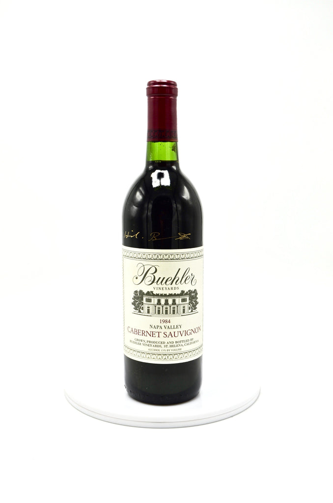 1984 Buehler Vineyards, Cabernet Sauvignon, Napa Valley