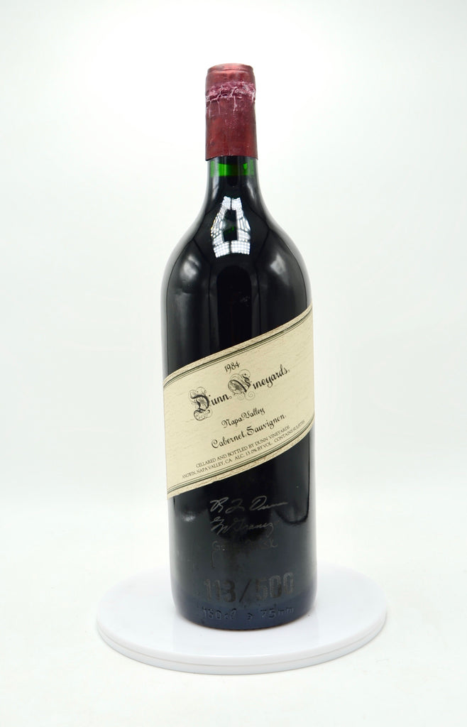 1984 Signed Dunn Vineyards Cabernet Sauvignon, Howell Mountain (magnum) - Artist Series