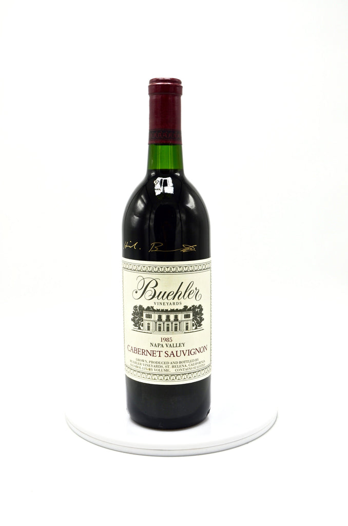 1985 Buehler Vineyards, Cabernet Sauvignon, Napa Valley