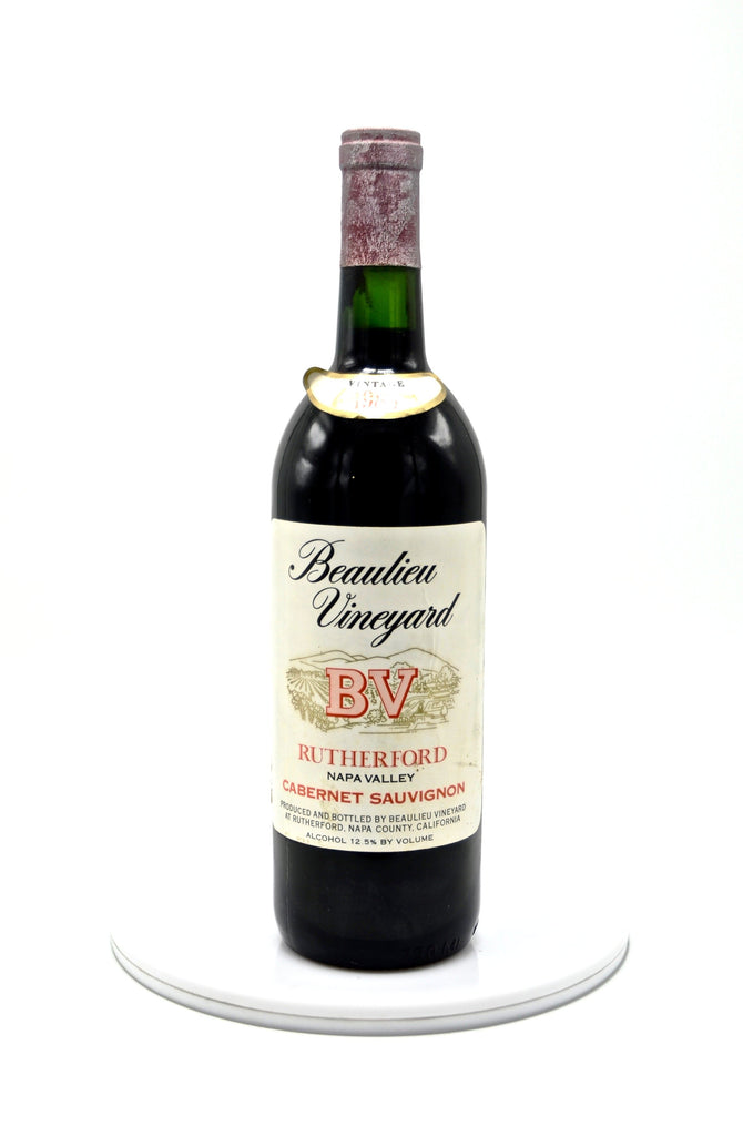 1985 Beaulieu Vineyard Cabernet Sauvignon, Rutherford