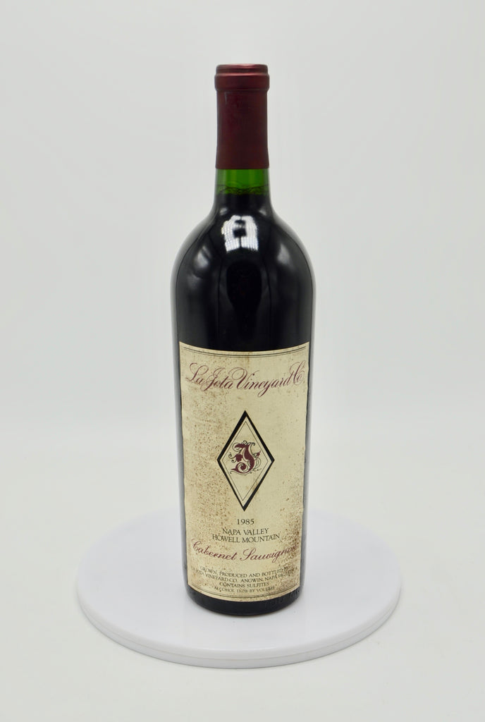 1985 La Jota Vineyards Cabernet Sauvignon, Napa Valley