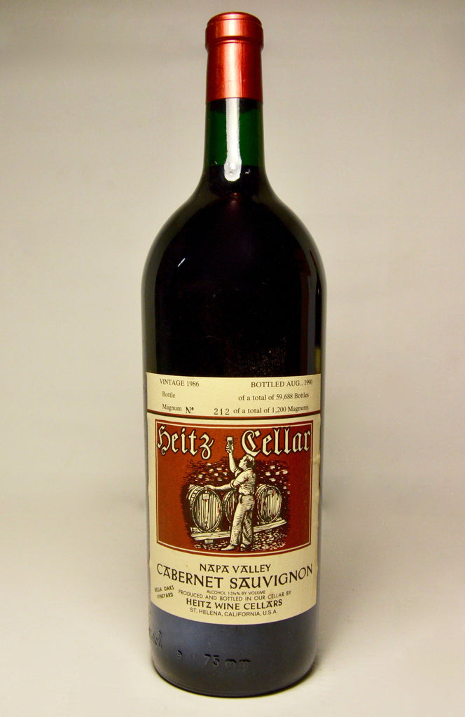 1986 Heitz Cellars Cabernet Sauvignon, Napa Valley, Bella Oaks Vineyard (Magnum)