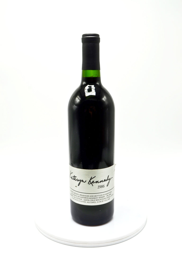 1986 Kathryn Kennedy Winery Cabernet Sauvignon