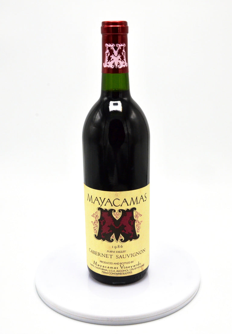 1986 Mayacamas Vineyards Cabernet Sauvignon, Napa Valley