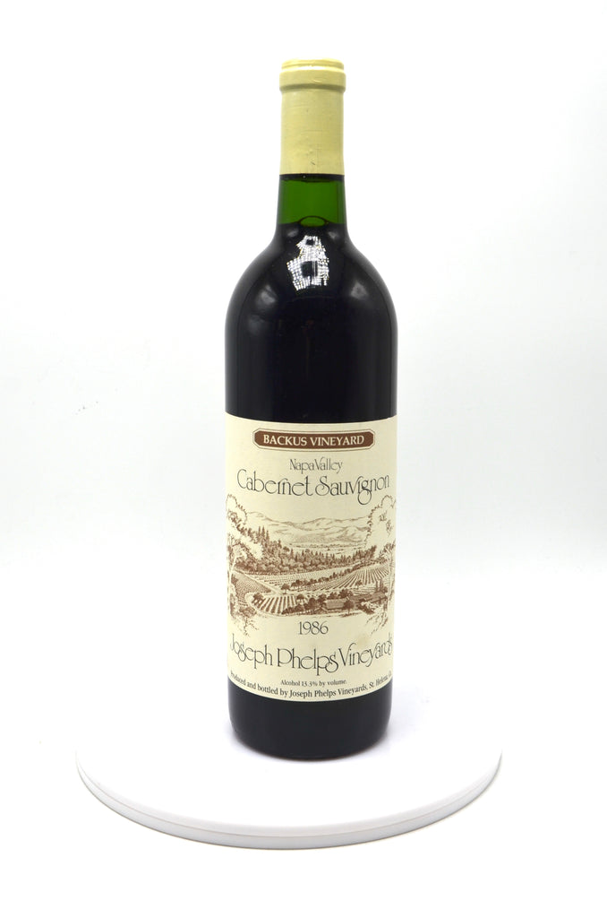 1986 Joseph Phelps Vineyards Cabernet Sauvignon, Backus Vineyard, Napa Valley