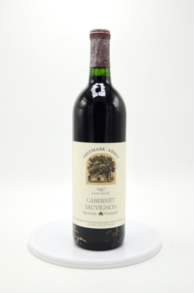 1987 Freemark Abbey Cabernet Sauvignon, Sycamore Vineyards