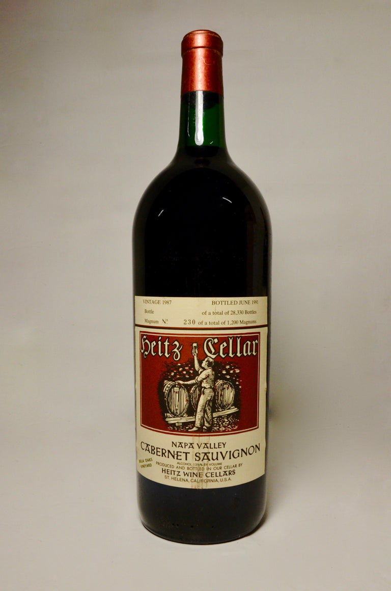 1987 Heitz Cellars Cabernet Sauvignon, Napa Valley, Bella Oaks Vineyard (magnum)
