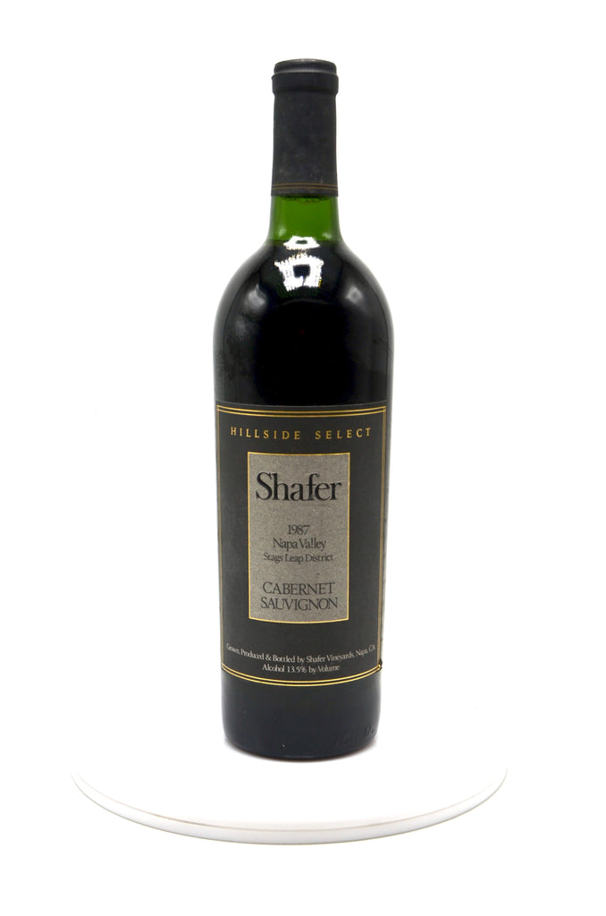 1987 Shafer Cabernet Sauvignon, Hillside Select, Stags Leap District, Napa Valley