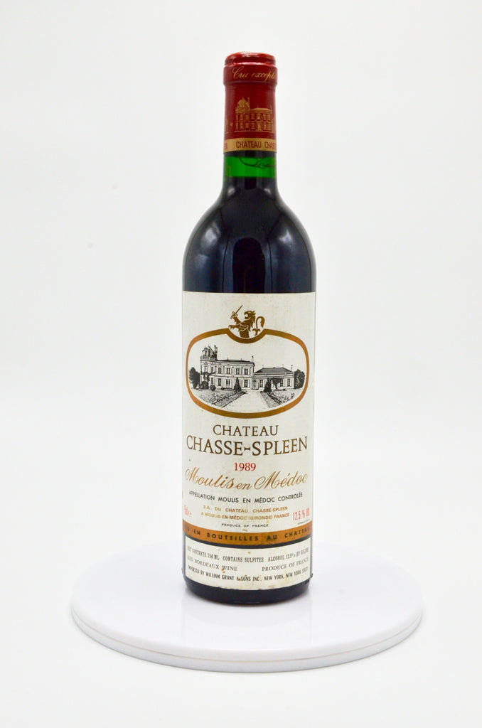 1989 Château Chasse Spleen, Moulis