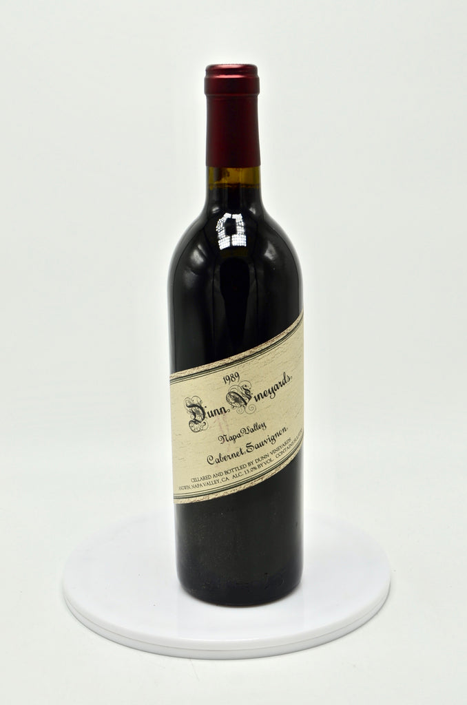 1989 Dunn Vineyards Cabernet Sauvignon, Napa Valley