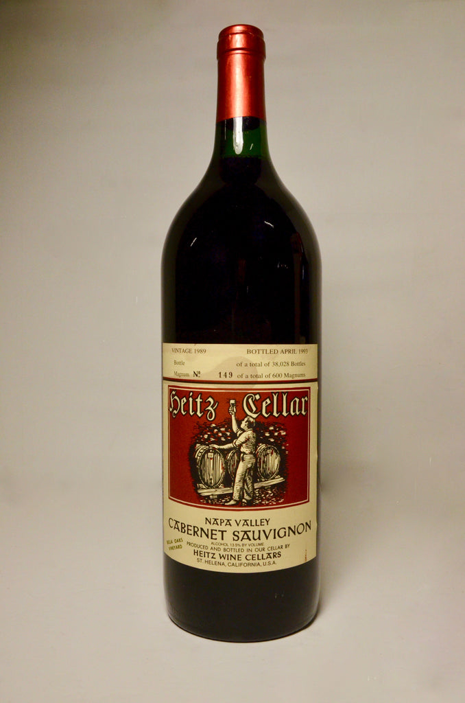 1989 Heitz Cellars Cabernet Sauvignon, Napa Valley, Bella Oaks Vineyard (magnum)