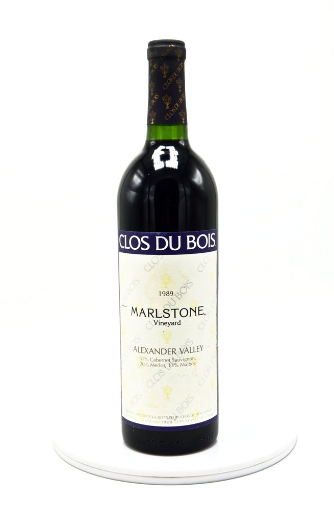 1989 Clos du Bois Red Marlstone Vineyard, Alexander Valley