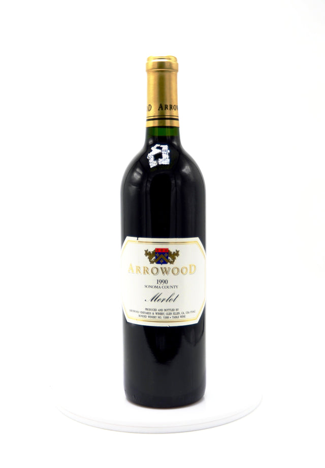 1990 Arrowood Vineyards & Winery, Merlot, Sonoma County