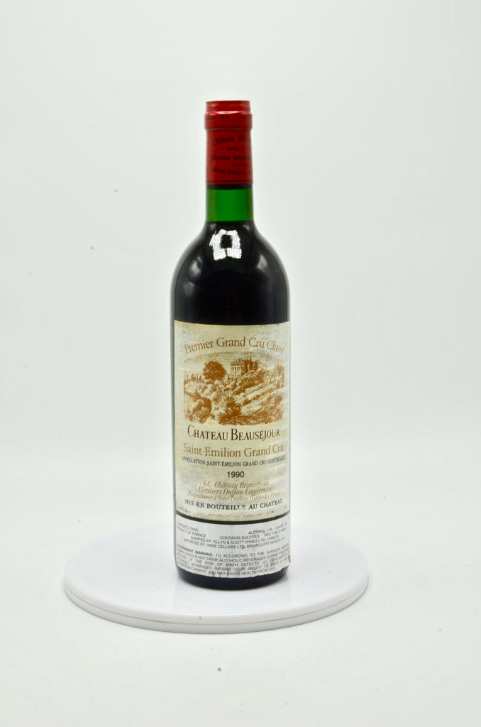 1990 Château Beausejour Becot, Pomerol