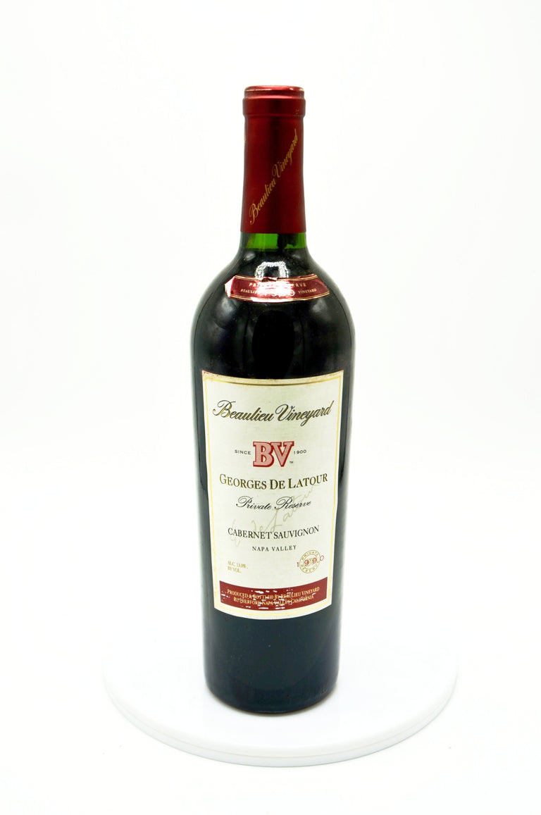 1990 Beaulieu Vineyard Georges de Latour Private Reserve Cabernet Sauvignon, Napa Valley