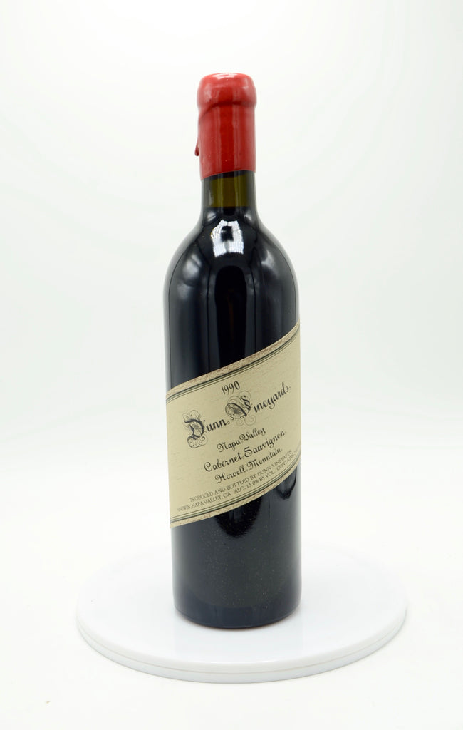 1990 Dunn Cabernet Sauvignon, Howell Mountain