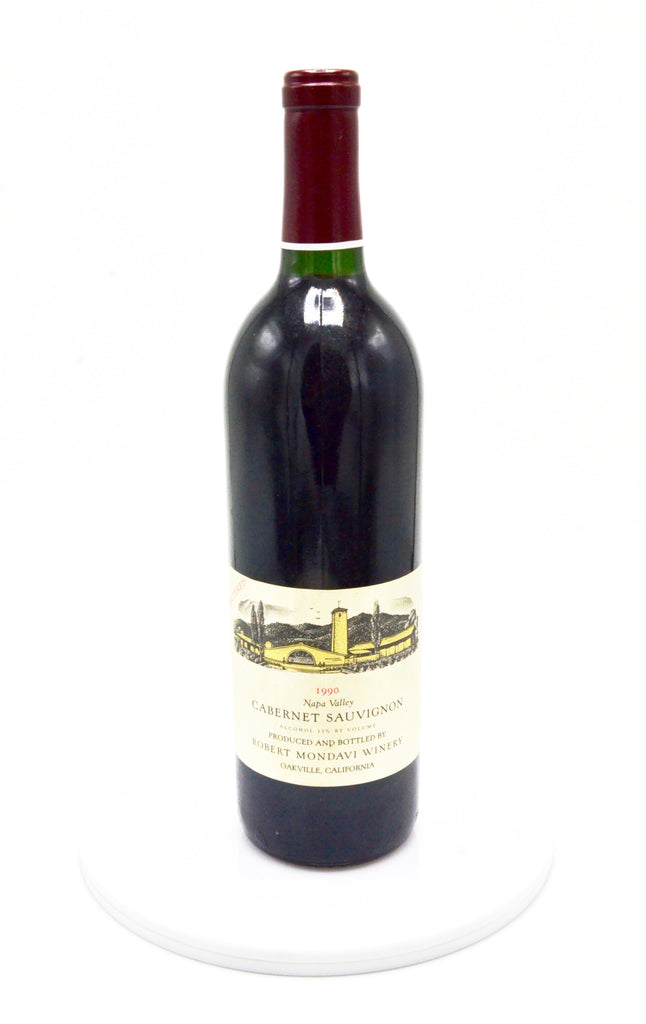 1990 Robert Mondavi Unfiltered Cabernet Sauvignon, Napa Valley