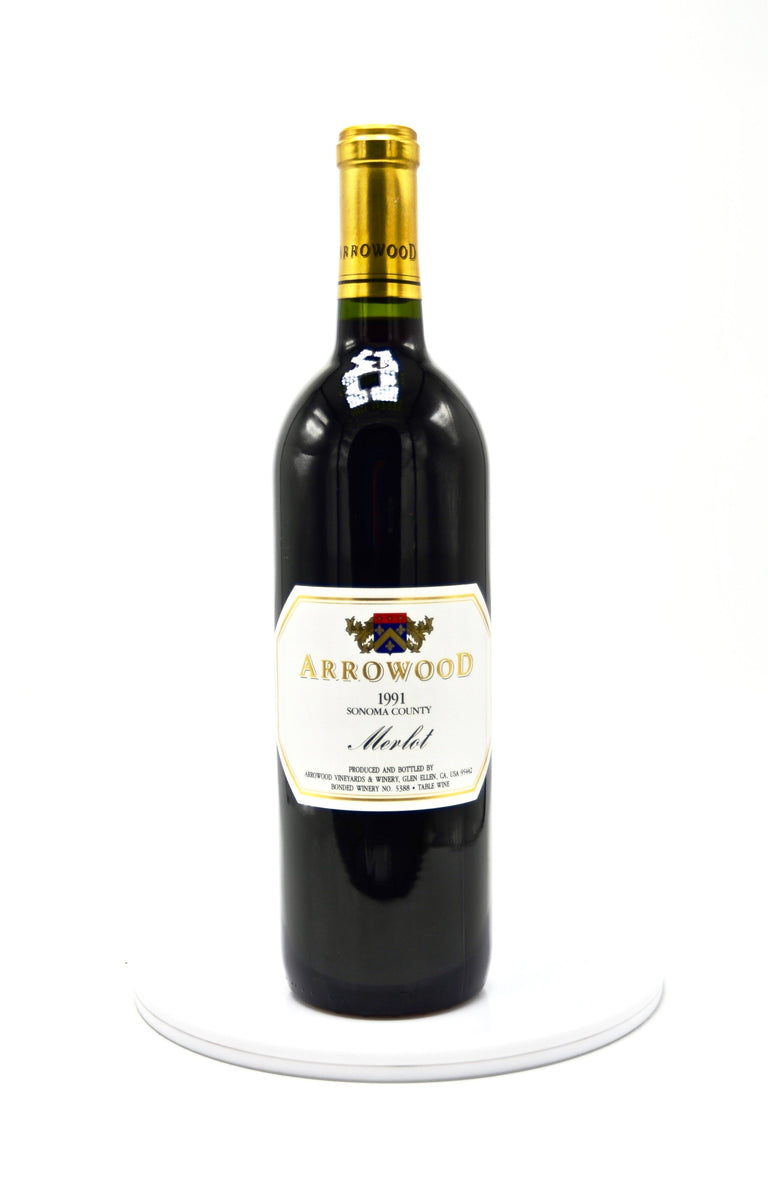 1991 Arrowood Vineyards & Winery, Merlot, Sonoma County