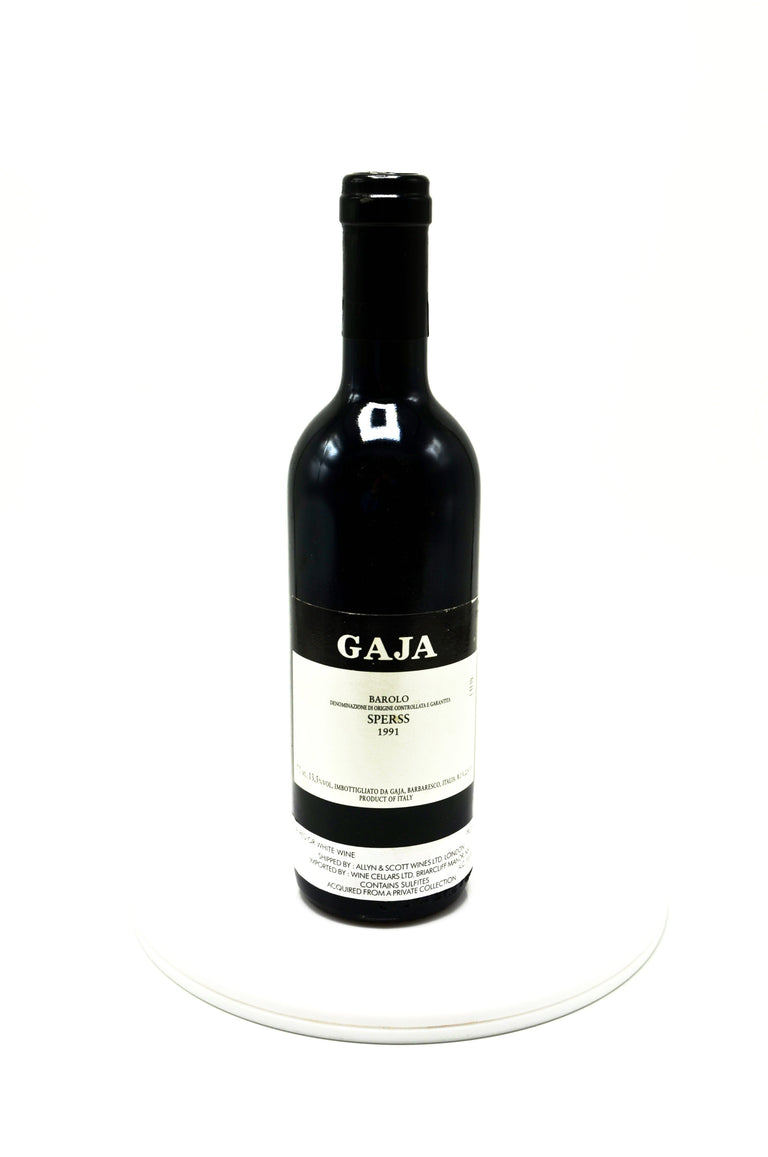 1991 Gaja Angelo Barolo Sperss (Half-Bottle)