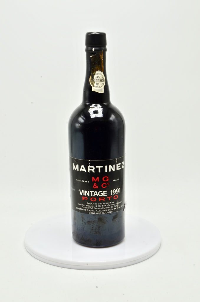1991 Martinez Vintage Port
