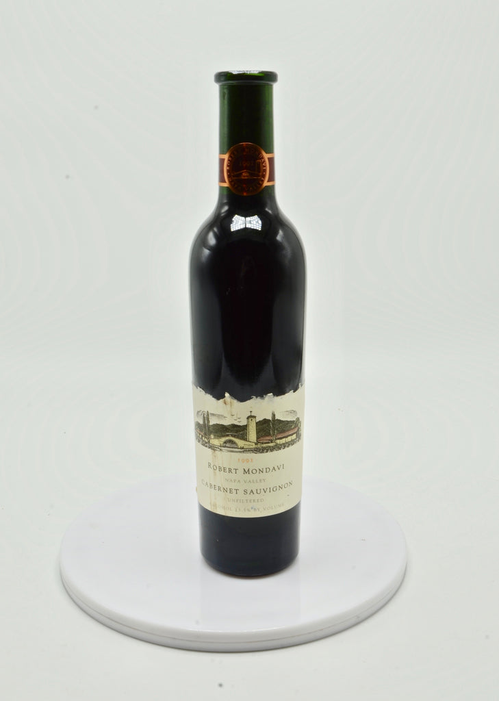 1991 Robert Mondavi Unfiltered Cabernet Sauvignon, Napa Valley (half-bottle)