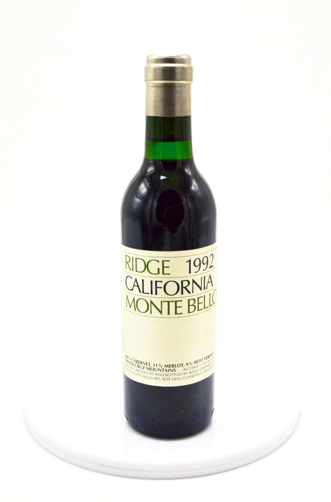 1992 Ridge Cabernet Sauvignon, Monte Bello (Half-Bottle)
