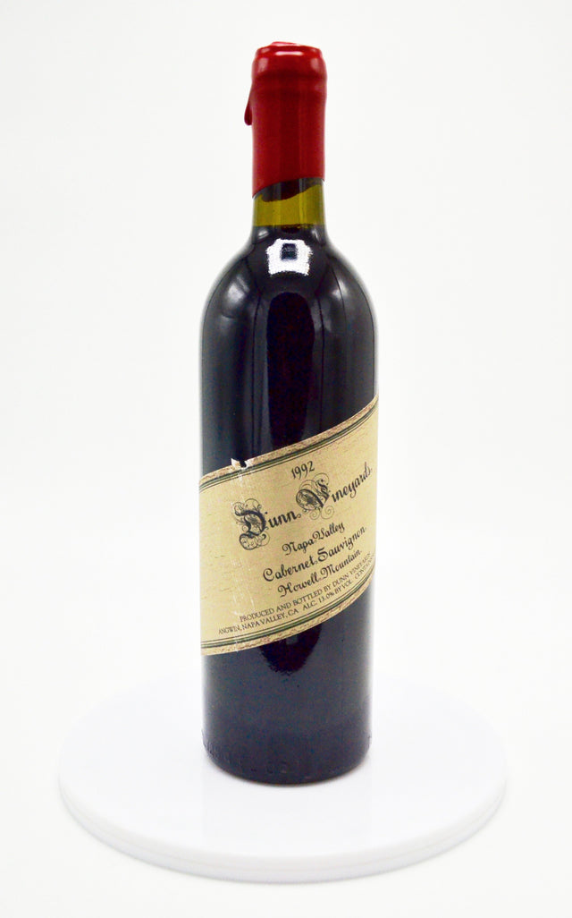 1992 Dunn Cabernet Sauvignon, Howell Mountain