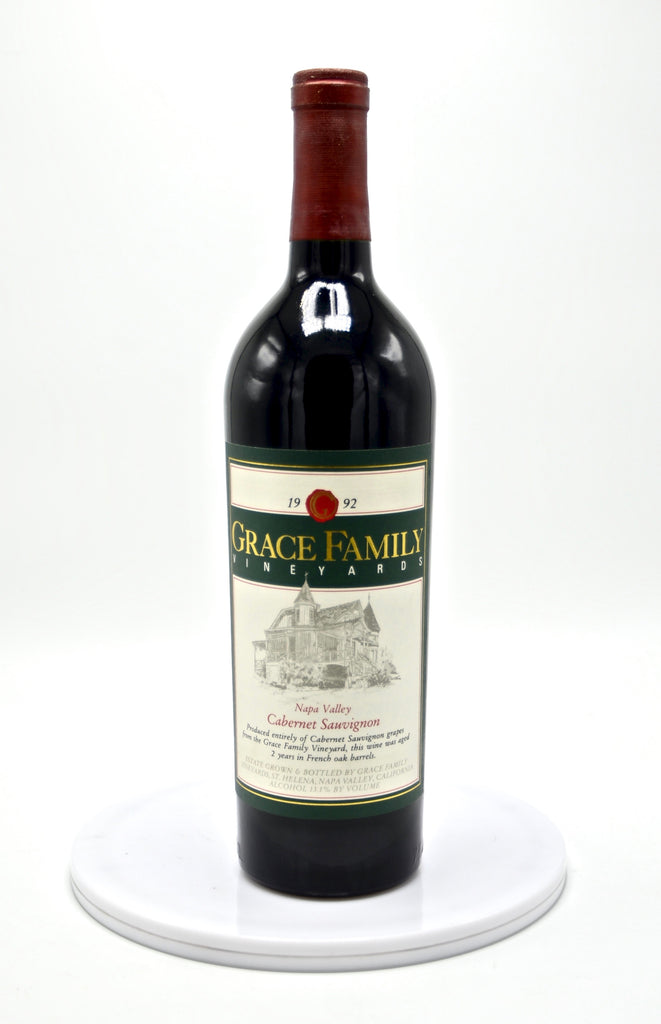 1992 Grace Family Cabernet Sauvignon, Napa Valley