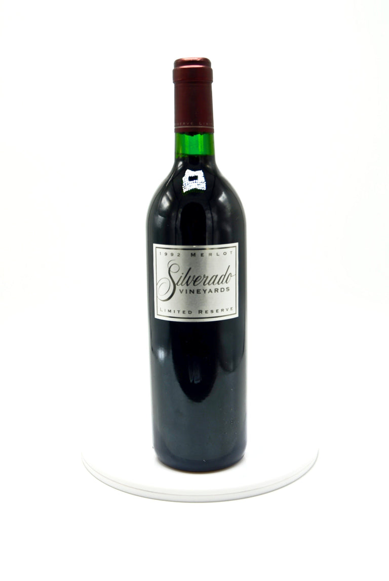 1992 Silverado Vineyards Limited Reserve Merlot, Napa Valley