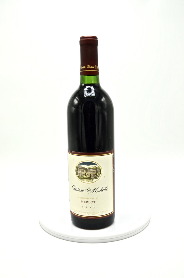 1992 Chateau Ste. Michelle Merlot, Columbia Valley