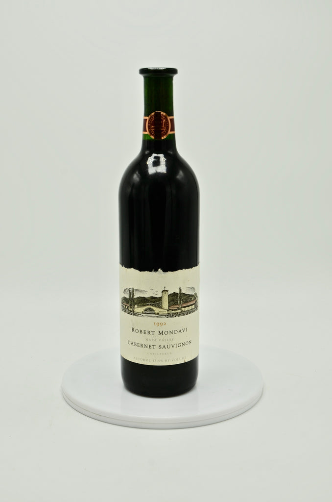 1992 Robert Mondavi Unfiltered Cabernet Sauvignon, Napa Valley