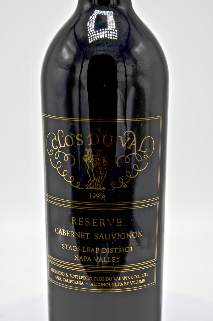 1993 Clos du Val Estate Reserve Cabernet Sauvignon, Stag's Leap District