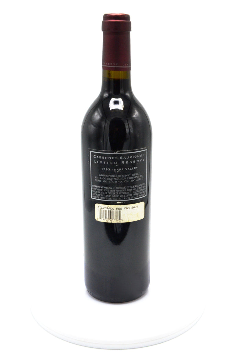 1993 Silverado Vineyards Limited Reserve Cabernet Sauvignon, Napa Valley