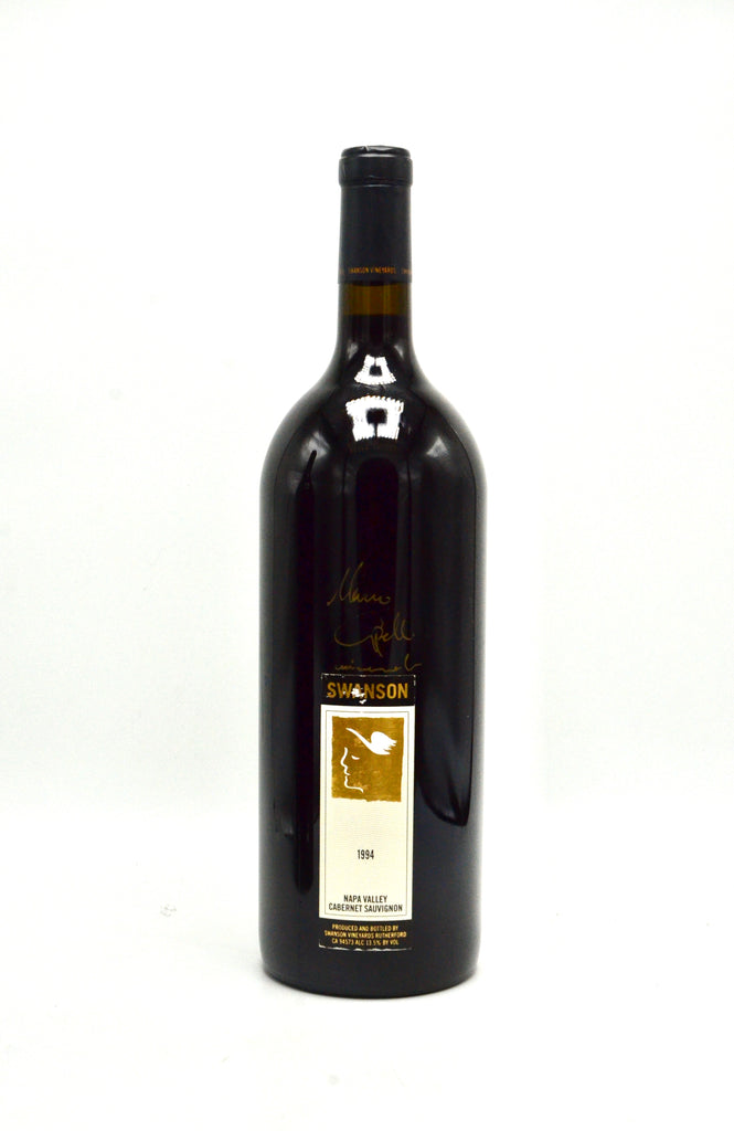 1994 Swanson Vineyards Cabernet Sauvignon, Napa Valley [autographed by Swanson's 1st winemaker, Marco Capelli] (magnum)