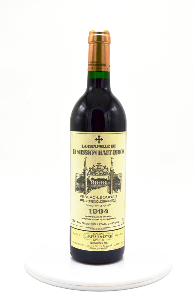 1994 La Chapelle de la Mission Haut Brion, Pessac-Leognan (La Mission's 2nd)
