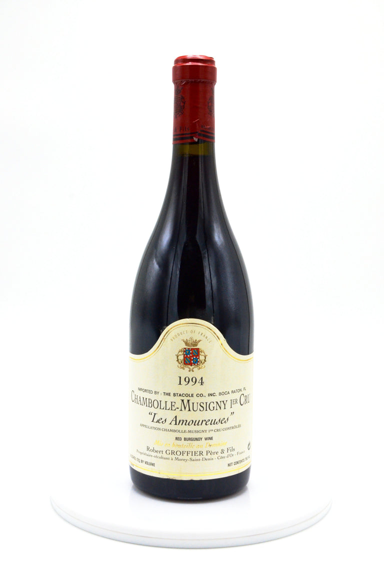 "1994 Robert Groffier Chambolle Musigny ""Les Amoureuses"""