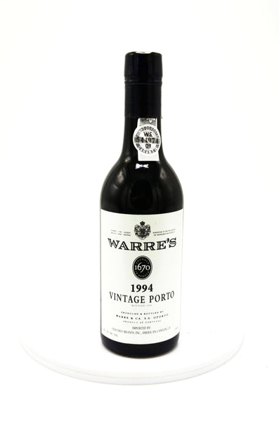 1994 Warre's Vintage Port (half bottle)