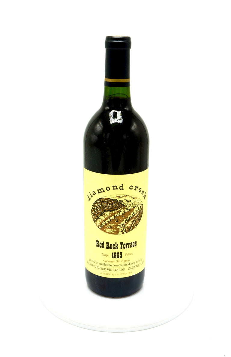 1995 Diamond Creek Cabernet Sauvignon, Red Rock Terrace