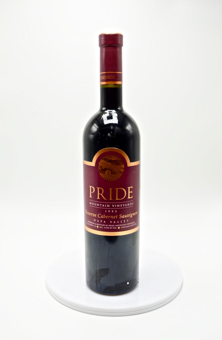 1995 Pride Mountain Vineyards Cabernet Sauvignon