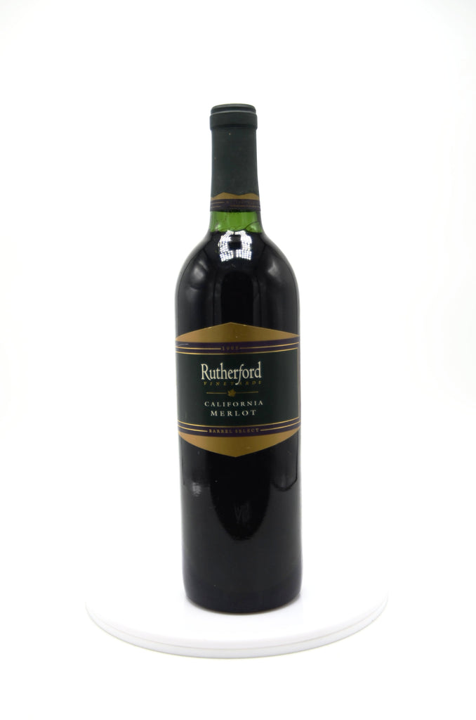 1995 Rutherford Vineyards Merlot Barrel Select