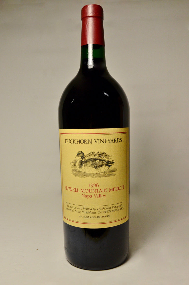 1996 Duckhorn Merlot Howell Mountain, Napa Valley (magnum)