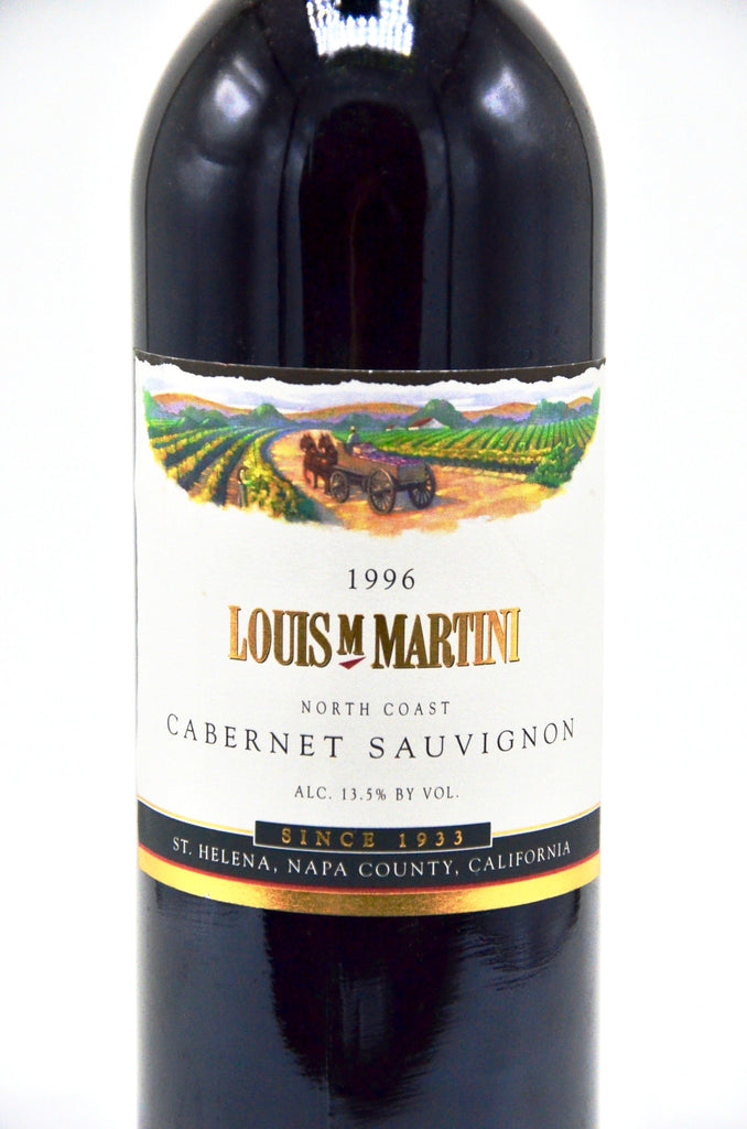 1996 Louis Martini Cabernet Sauvignon, North Coast