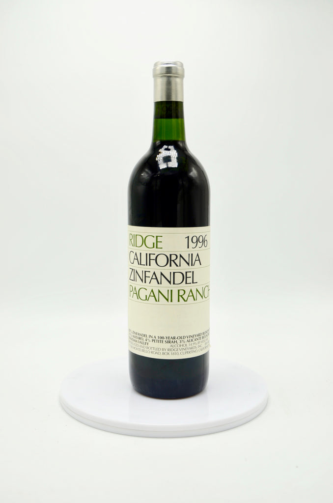 1996 Ridge Zinfandel Pagani Ranch