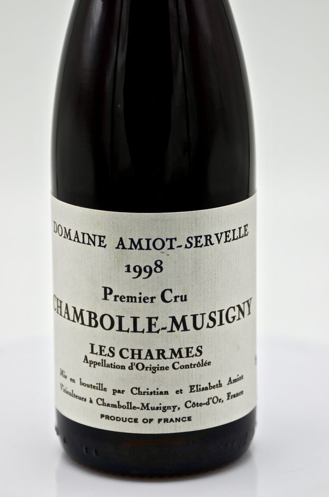 1998 Domaine Amiot-Servelle, Chambolle Musigny Charmes (half-bottle)